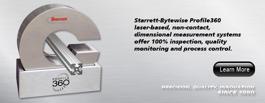 Starrett Laser Profile Measurement