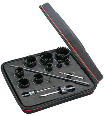 Tungsten Carbide Tipped Hole Saw Kits